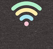 Pastel Rainbow Wi-Fi Unisex T-Shirt