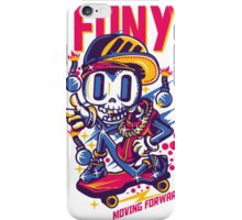 skull go skate iPhone Case/Skin