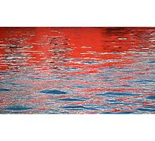 crimson tide Photographic Print