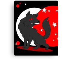 Big and Not so Bad Wolf Canvas Print