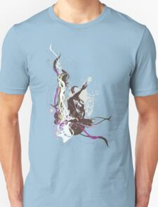 music abstract Unisex T-Shirt
