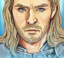 Thor - God of Thunder by KumaLaLa