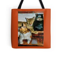 No Cats Here Tote Bag