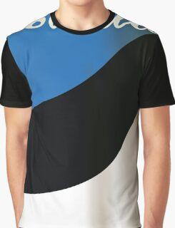 Estonia National flag travel poster Graphic T-Shirt