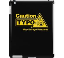 Typo iPad Case/Skin