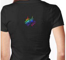 Majora's Mask (Rainbow) Womens Fitted T-Shirt