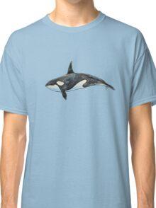 Orca on blue Classic T-Shirt