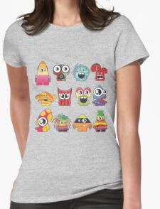 monster cute Womens Fitted T-Shirt