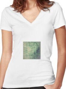 Orthanc Women's Fitted V-Neck T-Shirt