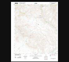 USGS TOPO Map Arizona AZ Lone Star Mountain 20111122 TM Unisex T-Shirt
