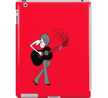 The Girl and the Guitar  iPad Case/Skin