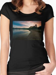 Once Upon a Sunrise Women's Fitted Scoop T-Shirt