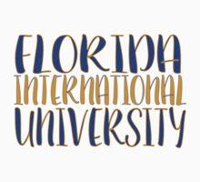 Florida International University One Piece - Short Sleeve