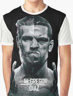 McGregor Vs Nate Diaz Rematch Graphic T-Shirt