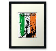 McGregor Quote Framed Print