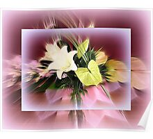 Bouquet of Lilies Poster