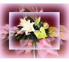 Bouquet of Lilies Photographic Print