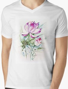 """Between Us"" from the series ""In the Lotus Land"" Mens V-Neck T-Shirt"