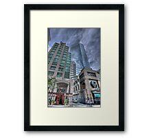 Hornby and Georgia Framed Print