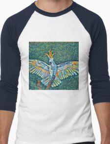 Cockatoo Impression Men's Baseball ¾ T-Shirt