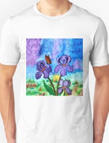Iris at Sunrise Unisex T-Shirt