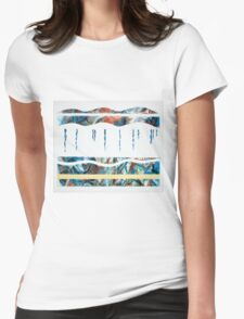 Layers - Beneath the surface (No.2 of 4) Womens Fitted T-Shirt