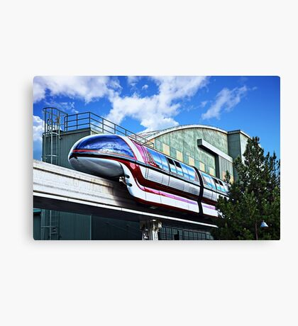 Soarin On The Monorail Canvas Print