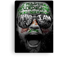 Team Mcgregor Canvas Print