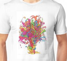 Psychedelic Fountain of Color Unisex T-Shirt