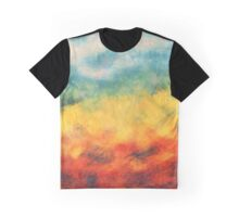 Multi-colored art Graphic T-Shirt
