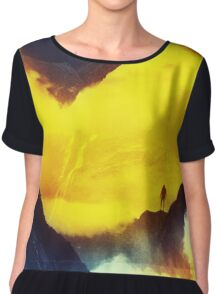 This volcano is mine Chiffon Top