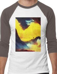 This volcano is mine Men's Baseball ¾ T-Shirt
