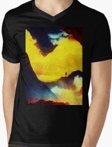 This volcano is mine Mens V-Neck T-Shirt