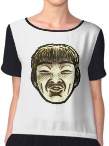 Great Teacher Onizuka Face  Chiffon Top