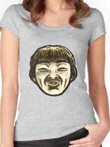 Great Teacher Onizuka Face  Women's Fitted Scoop T-Shirt