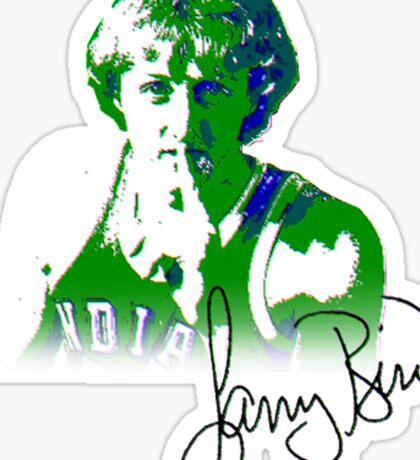 Larry the Bird design Sticker