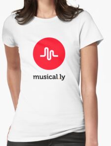 Music of life tshirt Womens Fitted T-Shirt
