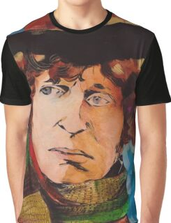 Pouty Fourth Doctor  Graphic T-Shirt