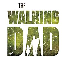 The Walking Dad Photographic Print