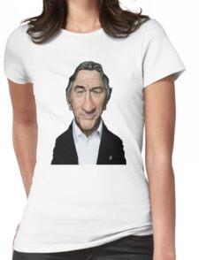 Celebrity Sunday - Robert De Niro Womens Fitted T-Shirt