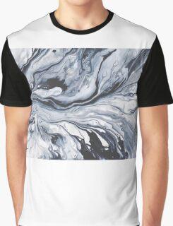 Black ink Graphic T-Shirt