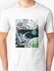 Alien DWI - two aliens under the influence, flying a spaceship while intoxicated T-Shirt