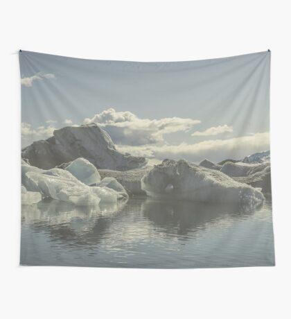 Icebergs V Wall Tapestry