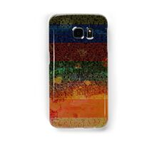 Radiohead - In Rainbows Album Lyrics Design #1 Samsung Galaxy Case/Skin