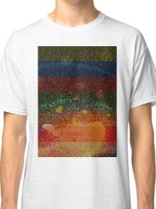 Radiohead - In Rainbows Album Lyrics Design #1 Classic T-Shirt
