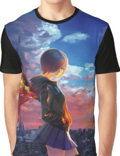 Tokyo Ghoul - Touka  Graphic T-Shirt