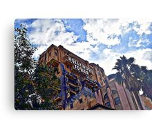 Tower Of Terror At California Adventure Metal Print
