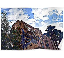 Tower Of Terror At California Adventure Poster
