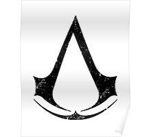 Assassin's Creed Symbol Vintage Poster