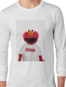 ELMO SUPERMEME Long Sleeve T-Shirt